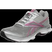 Reebok Women's Runtone Running Shoe Carbon/Pure Silver/Happy Pink/Black - Sneakers - $37.99