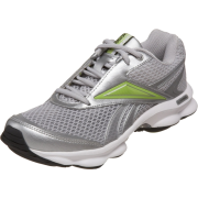 Reebok Women's Runtone Running Shoe Pure Silver/White/Kiwi Green/Black - Sneakers - $37.99