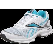 Reebok Women's Runtone Running Shoe White/Pure Silver/Glacier Blue/Black - Sneakers - $37.99
