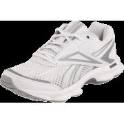 Reebok Women's Runtone Running Shoe White/Pure Silver - Sneakers - $37.99