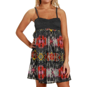 Rip Curl Rio Black Tie-Dye Juniors Dress - Dresses - $42.00