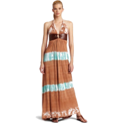 SKY Women's Lanny Maxi Halter Dress - Dresses - $165.00
