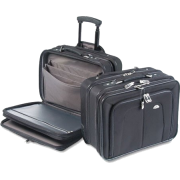 Samsonite : Business One Notebook Carrying Case, Nylon, 17-1/2 x 9 x 14, Black -:- Sold as 2 Packs of - 1 - / - Total of 2 Each - Travel bags - $415.99