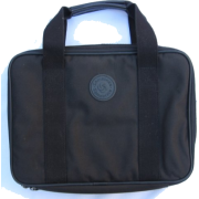 Samsonite Netbook Laptop Notebook Padded Black Carrying Case - Inside dimensions 13L x 9 1/2W x 2H inches - Outside dimensions 14L x 10W x 2H inches - Zips closed - Great for storing laptops, netbooks, notebooks, portable electronic devices - Travel bags - $42.12