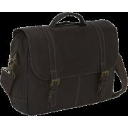 Samsonite Unisex - Adult Columbian Leather Flapover Case - Travel bags - $125.99