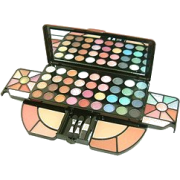 Shany Deluxe Makeup Kit, Foldable, 62 Count - Cosmetics - $29.95