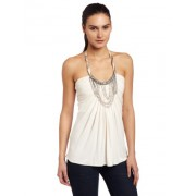 Sky Womens Cleo Halter Tee - Top - $61.19