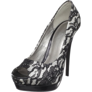 The Highest Heel Women's Eternity - 11 - SLCE Peep Toe Pump - Shoes - $68.83