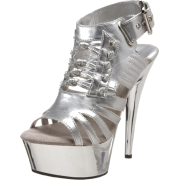 The Highest Heel Women's Gladiator Open Toe Platform - Plataformas - $40.32  ~ 34.63€