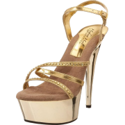 The Highest Heel Women's Tabatha Platform Sandal - Plataformas - $64.99  ~ 55.82€