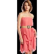 Tiana B Women's Miamai Girl Strapless Dress, Coral, 12 - Dresses - $47.99