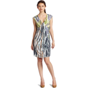 Tiana B Women's Mosaic Printed Sleeveless Dress - Dresses - $39.99