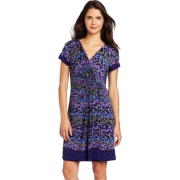 Tiana B Women's Stripes And Spots Jersey Dress - Dresses - $32.99