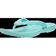 crocs Unisex Classic Clog Aqua/Sea Foam - Thongs - $14.89