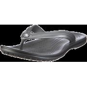 crocs Unisex Classic Clog Graphite - Thongs - $14.89