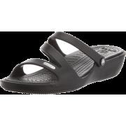 crocs Women's Patricia Sandal Black/black - Sandals - $23.97