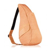 AmeriBag Small Distressed Nylon Healthy Back Bag (Apricot) - Accessories - $45.99