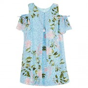 Amy Byer Girls' Big Cold Shouldeer A-line Dress - Dresses - $13.27