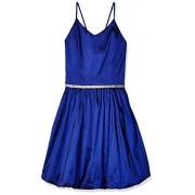 Amy Byer Girls' Big V-Neck Bubble Hem Party Dress - Dresses - $31.92