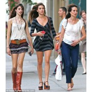 Andie McDowell & Her Daughters - My photos -