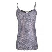 Anna-Kaci Womens Matte Sequin Python Snake Print Sleeveless Camisole Tank Top - Hemden - kurz - $39.99  ~ 34.35€