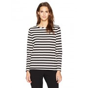 Anne Klein Women's Eyelet Striped Long Sleeve Knit - Shirts - $14.39