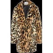 Apparis Leopard Faux Fur Coat - Jakne i kaputi -