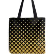 Art Deco tote bag by DEC02 - Travel bags -