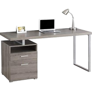 "Atlin Designs 60"" Metal Home Office Desk - Uncategorized -"