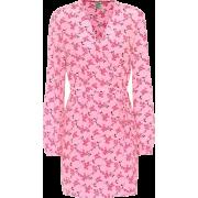 Augusta Pink Floral Dress - Dresses -