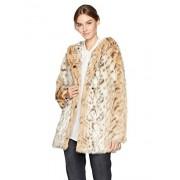 Avec Les Filles Women's Hooded Faux Fur Coat - Outerwear - $151.73