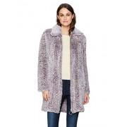 Avec Les Filles Women's Knitted Faux Fur Walker Coat - Outerwear - $110.49