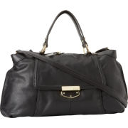 B. MAKOWSKY Lombard Satchel Black - Bag - $278.00