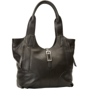 B. MAKOWSKY Women's Metropolitan Tote,Black,One Size - Bag - $278.00
