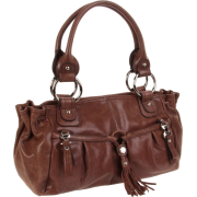 B. MAKOWSKY Yvette Shoulder Bag,Brown,One Size - Bag - $161.00