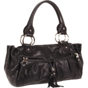 B. MAKOWSKY Yvette Tote,Black,One Size - Bag - $127.52