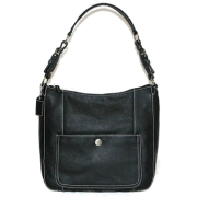 B-Collective Handbags by Buxton 10HB041.BK Shoulder Bag- Black - Hand bag - $52.97