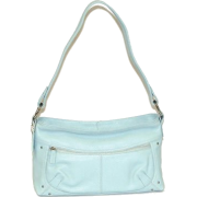 B-Collective Handbags by Buxton 10HB047.BL Shoulder Bag- Blue - Hand bag - $44.14