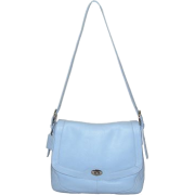 B-Collective Handbags by Buxton 10HB048.BL Shoulder Bag- Blue - Hand bag - $44.89