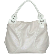 B-Collective Handbags by Buxton 10HB059.WH Hobo- White - Hand bag - $32.18