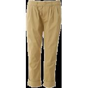 BEAMS ソフトチノ2タックパンツ_ - Pants - ¥7,140  ~ $63.44