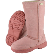 BEARPAW KIDS 617Y MEADOW 10 INCH SHEEPSKIN BOOTS Salmon - Boots - $32.88