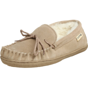 BEARPAW Men's Moc Shearling Slip-On Sand - Shoes - $39.99