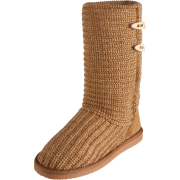 BEARPAW Women's Crochet Boot Chestnut - Boots - $52.99