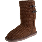 BEARPAW Women's Crochet Boot Chocolate - Boots - $52.99