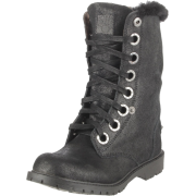 BEARPAW Women's Kayla Lace-Up Boot Black - Boots - $40.20