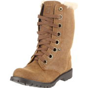 BEARPAW Women's Kayla Lace-Up Boot Cognac - Boots - $40.20