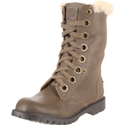 BEARPAW Women's Kayla Lace-Up Boot Maple - Boots - $40.20