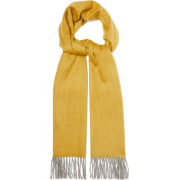 BEGG & CO. Arran reversible fringed cash - Scarf -