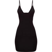 BLACK BODYCON DRESS - Dresses -